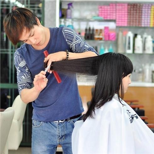 Nhuộm/Uốn/Duỗi/Bấm xù + hấp tóc Collagen - Salon Nguyễn Tài