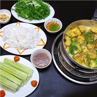 Cùng Mua - Set cha ca lang tuoi danh cho 2 nguoi - Nha hang Cheo Cuisine