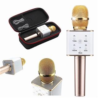 Cùng Mua - Micro Karaoke Q7 loa Bluetooth - Bao hanh 3 thang