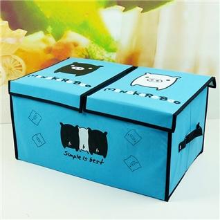Cùng Mua - Tu dung do 2 ngan co nap khung cung cap mau HV17 xanh bien