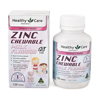 Cùng Mua - Vien uong bo sung kem cho tre Zinc Chewable 120 vien