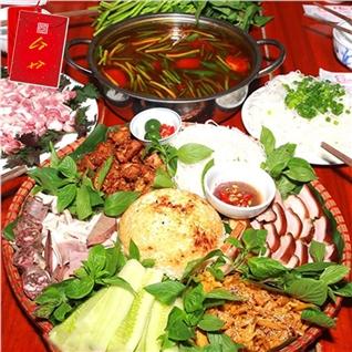Cùng Mua - Sieu ngon met lon Muong + Lau sun non om doc mung - Moc Quan