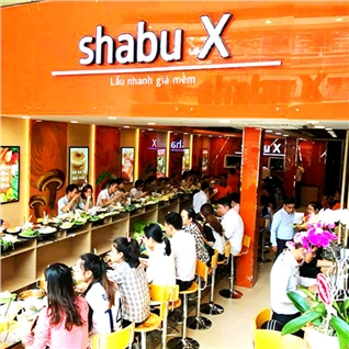 Cùng Mua - Combo lau cuc da cho 2 nguoi tai he thong nha hang Shabu X