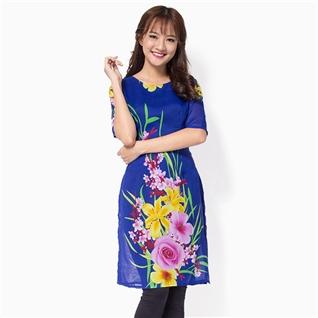 Cùng Mua - Ao dai cach tan Khanh Linh MS02