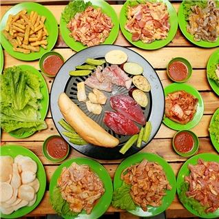 Cùng Mua - Buffet nuong khong gioi han tai Vi Vu Quan