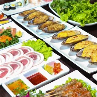 Cùng Mua - Buffet cao cap - Lau nuong khong khoi - Nha Hang Clam BBQ