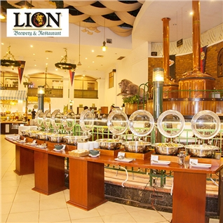 Cùng Mua - Buffet Lion buoi trua hon 60 mon an dac sac tai Nha hang Lion