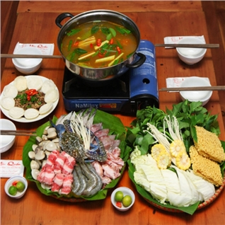 Cùng Mua - Combo lau met sieu khung 4 nguoi tang chim cau tai Moc Quan