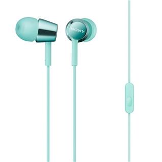 Cùng Mua - Tai nghe dang nhet tai Sony MDREX150APLQE mau xanh