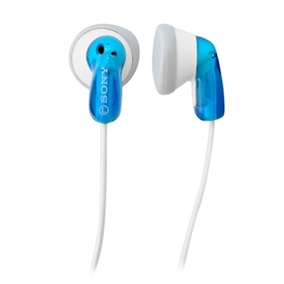 Cùng Mua - Tai nghe dang nhet tai Sony MDR-E9LP/B mau xanh duong