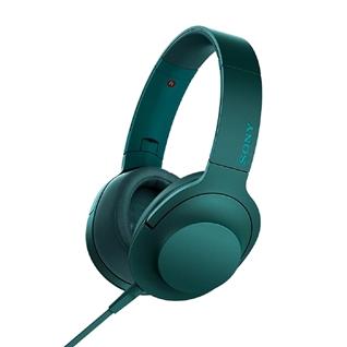 Cùng Mua - Tai nghe chup tai Sony MDR-100AAPLCE mau xanh la