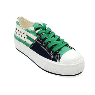 Cùng Mua - Giay sneaker nu jean xanh