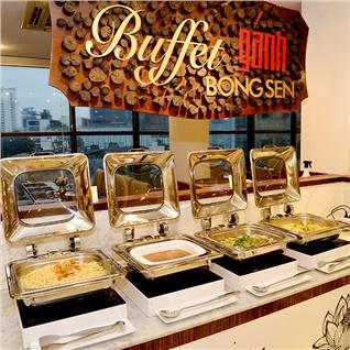 Cùng Mua - Buffet Ganh trua hon 60 mon tai Khach san Palace