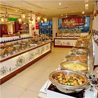 Cùng Mua - Buffet Ganh toi hon 50 mon tai Khach san Palace
