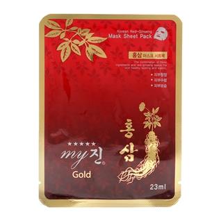 Cùng Mua - Bo 10 mieng dap mat na MY JIN GOLD KOREA RED GINGSENG