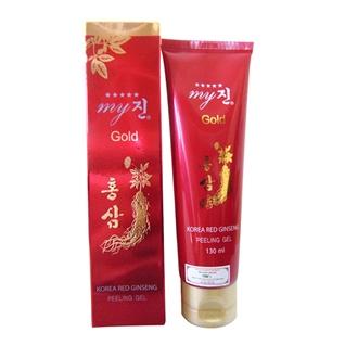 Cùng Mua - Kem tay da chet Korea Red Ginseng Peeling Gel My Gold (130ml)