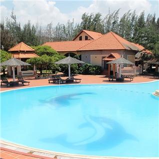 Cùng Mua - Doi Su Resort Ke Ga tieu chuan 3*+set menu cho 2 khach