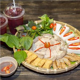 Cùng Mua - Met bun dau+2 ly tra atiso cho 2 nguoi - Nha Hang Mon Bac