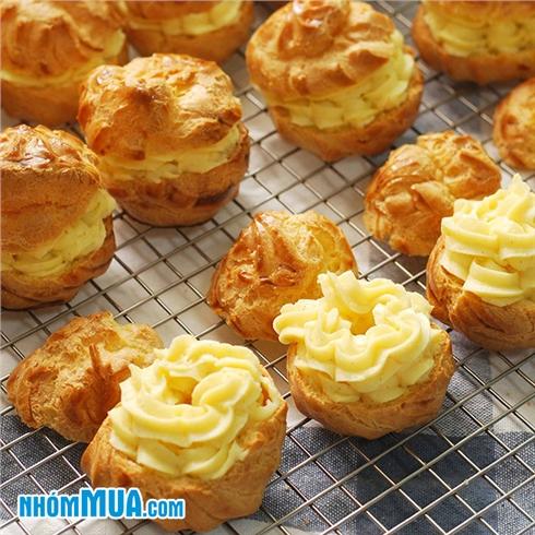 Khóa học làm bánh Choux Cream - Trung tâm dạy nghề Quận 1