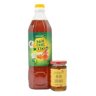 Cùng Mua - Mat ong tho Honeyboy (1000ml) va mat ong thien nhien (100ml)