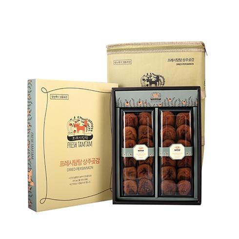 Hồng khô Hàn Quốc Dried Persimmon 1.15kg, kèm túi giữ nhiệt