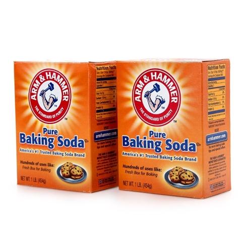 Combo 2 hộp baking soda Arm và Hammer đa công dụng (908g)
