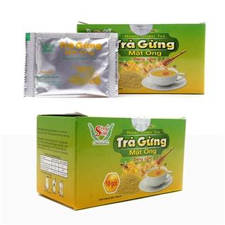 Cùng Mua - Combo 2 hop tra gung mat ong Sing Viet bao ve suc khoe (40g)