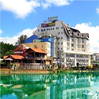 Cùng Mua - Kings Hotel Da Lat tieu chuan 4* - Buffet sang 3N2D - Gia soc