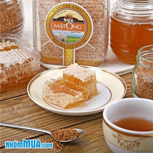 Mật ong bánh tổ nguyên chất (400gr) - Giao hàng