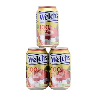 Cùng Mua - Combo 3 nuoc tao ep 100% nguyen chat Welch's 340 ml
