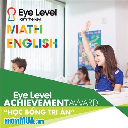 Khóa học 02 buổi Toán Tư Duy/Tiếng Anh cho bé - Eye Level