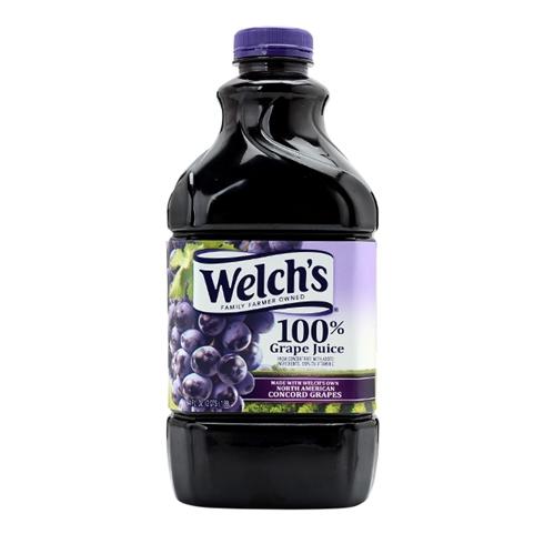 Nước ép nho nguyên chất Welch's 1,89L