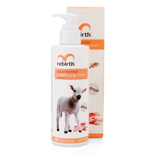 Sữa dưỡng thể trắng da nhau thai cừu Rebirth 200ml