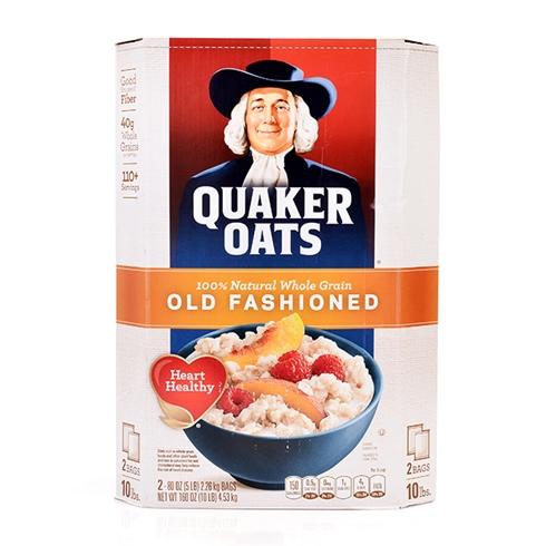 Bột yến mạch Quaker Oats nhập khẩu Mỹ 4.53kg