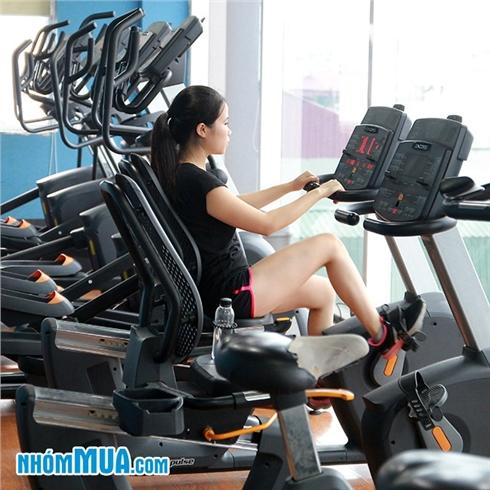 02 tháng tập gym full time+Xông hơi - Tuấn Vũ fitness Lò Đúc