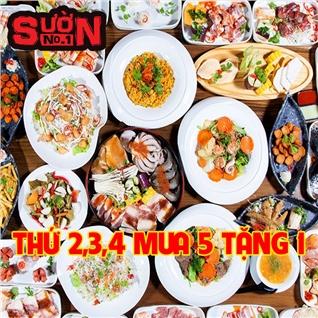 Cùng Mua - Buffet toi BBQ, bia khong gioi han - Suon No.1 Nguyen Hue