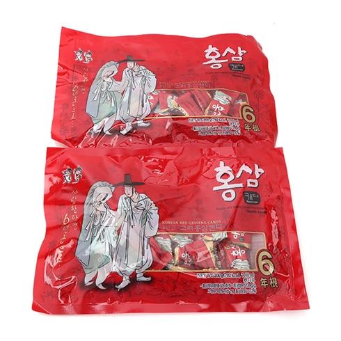Combo 2 gói kẹo Hồng Sâm Hàn Quốc 6 năm tuổi (200g)