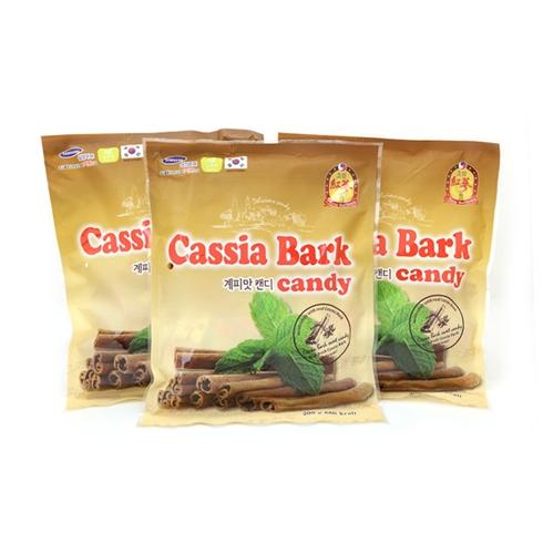 Combo 3 gói kẹo Quế Cassia Bark Hàn Quốc (200g)