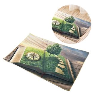 Cùng Mua - Tham lau chan sieu tham chong truot 3D - Cuon sach (60*90cm)