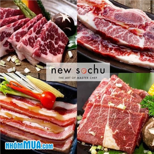 Buffet lẩu và nướng Hàn Quốc ngon hàng đầu Hà Nội - New Sochu