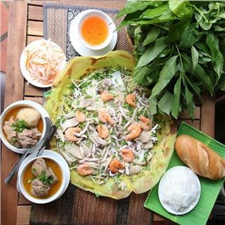 Cùng Mua - 1 trong 2 set an dac biet cho 2 nguoi tai Banh Xeo Ba Hai