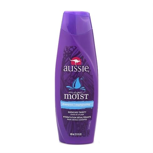 Dầu gội dành cho tóc khô Aussie Mega Moist 400ml
