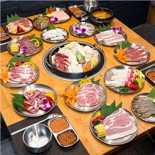 Cùng Mua - Buffet Nuong Lau Han Quoc (Free Pepsi) - BBQ Plus Times City