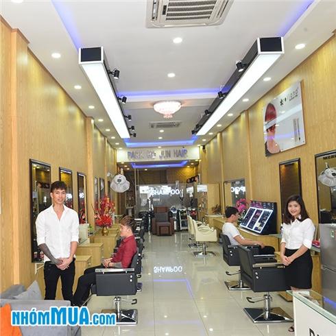 Uốn / duỗi / nhuộm / phục hồi tại Salon Hàn Quốc Park Ho Jun
