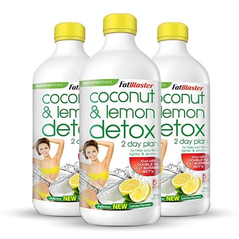 Combo 3 chai nước uống giải độc tố hương chanh 750ml/chai