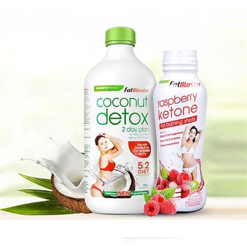 Combo 2 thức uống giải độc tố và nước uống giảm cân