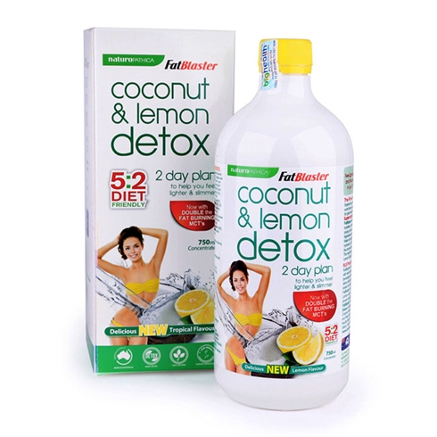 Thức uống giải độc tố Giảm béo hương chanh 750ml