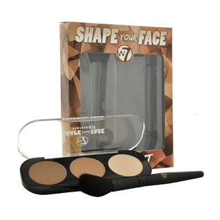 Cùng Mua - Phan tao khoi 3 o W7 Shape Your Face Contour Kit