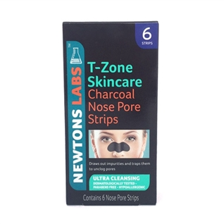 Cùng Mua - Mieng lot mun mui T-Zone Skincare Charcoal Nose Pore Strips