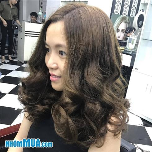 Combo Cắt+ Gội + Hấp + Sấy tạo kiểu tại Eva Xinh Hair Salon